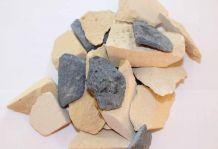 Отходы, образовавшиеся при рустировании силикатного кирпича